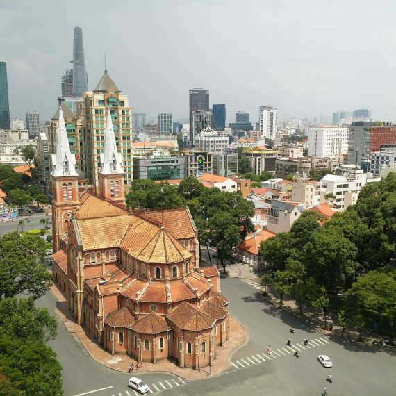 Saigon Cathedral of Notre Dame
